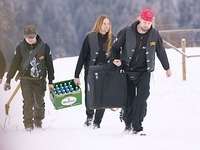 Video: Black-Metal-Band nimmt EP auf dem Kandel auf