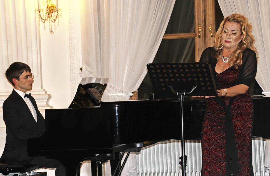 Lieder des 19. Jahrhunderts  wurden vo... Vinichenko wie große Arien gestaltet.  | Foto: Margrit Matyscak