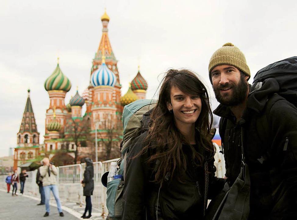 Ein erstes Etappenziel: Moskau, Mai 2013  | Foto: Gwen Weisser