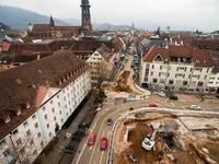 In Freiburg stoßen Bagger auf eine alte Bastion