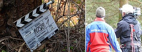 Schwarzwald-Tatort: Bergwacht und Feuerwehr beim Dreh