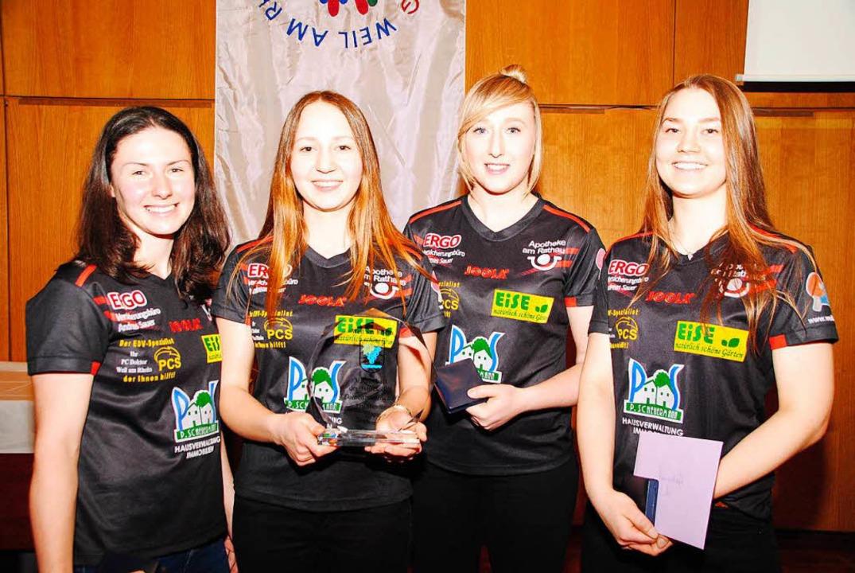 Mannschaft des Jahres: Tischtennisdamen des ESV  | Foto: Norbert Sedlak