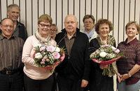 Ehrenvorsitz für Klaus Dönges in der MGV Singgemeinschaft