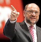 Schulz verspricht kostenlose Kitas