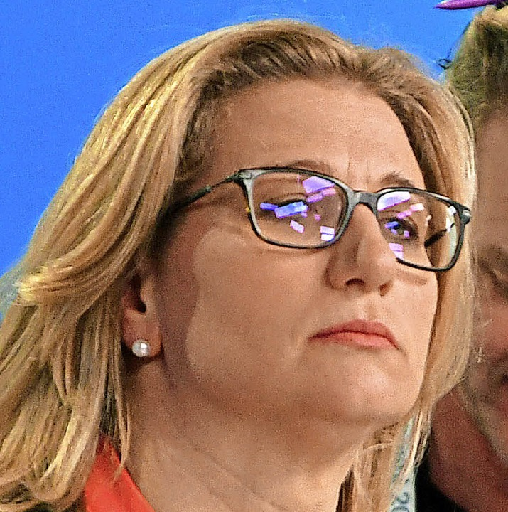 Verloren: Anke Rehlinger     Foto: dpa