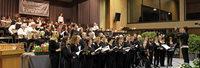Zusammenspiel von Chor und Bläsern