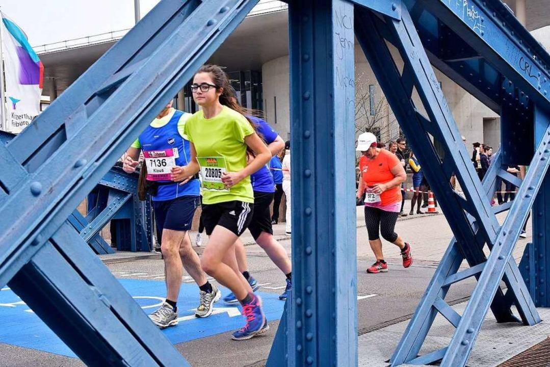 Das Thema Sicherheit ist beim Freiburg-Marathon ein bestimmendes Thema.  | Foto: Thomas Kunz