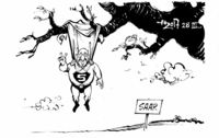 Supermann weiterhin obenauf!
