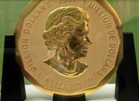 Diebe klauen 100-Kilo-Münze
