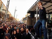 Anti-Pegida-Demo: Tote Hosen geben ein Spontankonzert