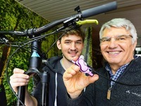 """Freiburger haben die weltweit """"beste Fahrradbremse"""" gebastelt"""