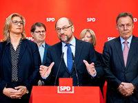 Koalitionsfrage: SPD legt sich trotz Niederlage nicht fest