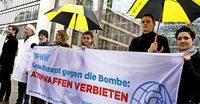 Papst Franziskus fordert ein Verbot von Kernwaffen
