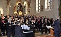 """Gesangverein """"Sponeck"""" und Gastchor aus Schuttern begeistern bei Kirchenkonzert"""