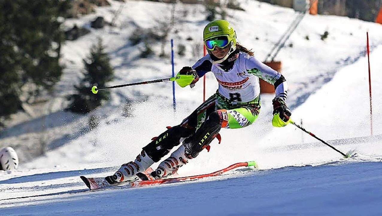 <BZ-FotoAnlauf>Ski alpin:</BZ-FotoAnla...hr bei der Frauen-DM mit und wurde 41.  | Foto: Archiv: Dieter Horning-Wiesler