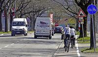 Radfahrer dürfen in Freiburg bald auf mehr Strecken auf der Straße fahren