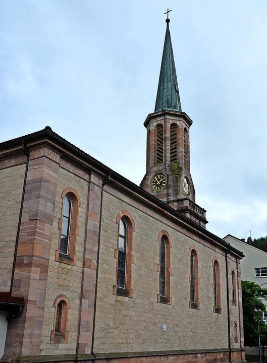 In der evangelischen Kirche in Zell fi...emeindediakonin Rebekka Specht statt.   | Foto: Hermann Jacob
