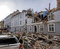Explosion zerstört komplettes Wohnhaus