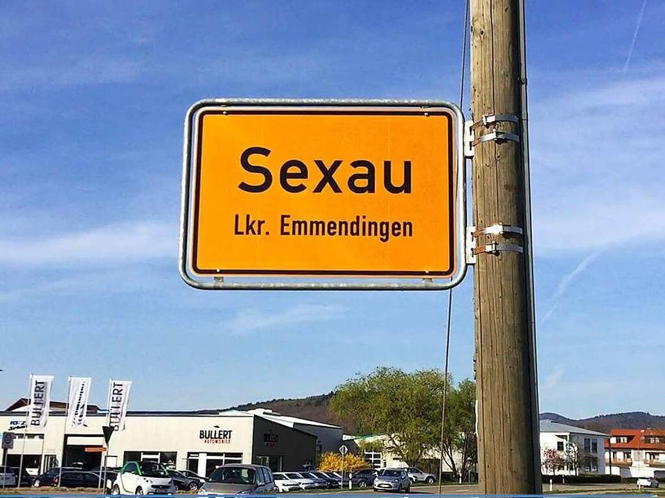Sexau kann nichts für seinen Namen.    Foto: Anika Maldacker