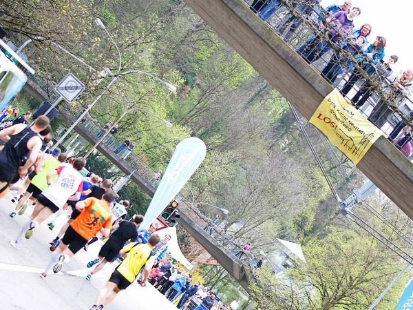 Impressionen vom 14. Freiburg-Marathon am 2. April 2017