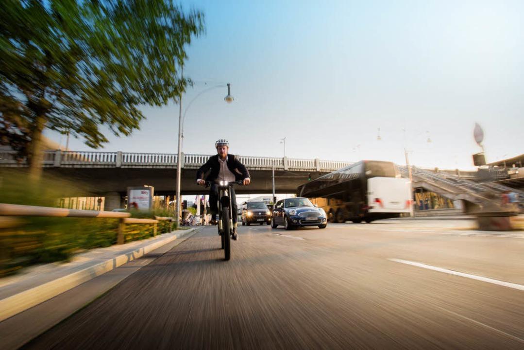 Mit dem Speedbike kommen Sie rasant ans Ziel.  | Foto: SUPERNOVA DESIGN GmbH & Co. KG