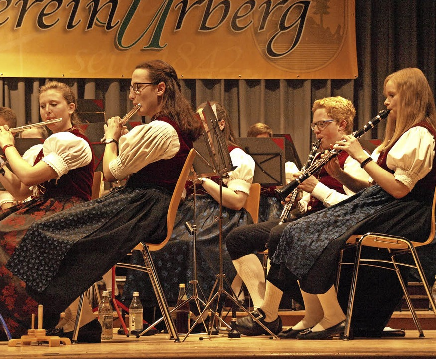 Mit einem abwechslungsreichen Programm...ahreskonzert in der Dachsberghalle auf    Foto: Karin Stöckl-Steinebrunner