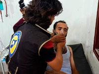 Aktivisten: Mindestens 58 Tote bei Giftgasangriff in Syrien