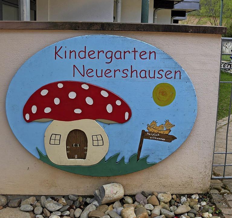 Der Kindergarten in Marchs kleinstem O...wei Kleinkindgruppen erweitert werden.  | Foto: horst david