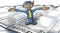 B. Zetti befreit sich aus der Gewalt des Zeitungskönigs