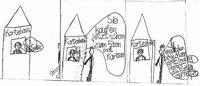 Zisch-Cartoon Von Pius Leo Waßmer, Klasse 4, Ernst Leitz-Schule, Sulzburg