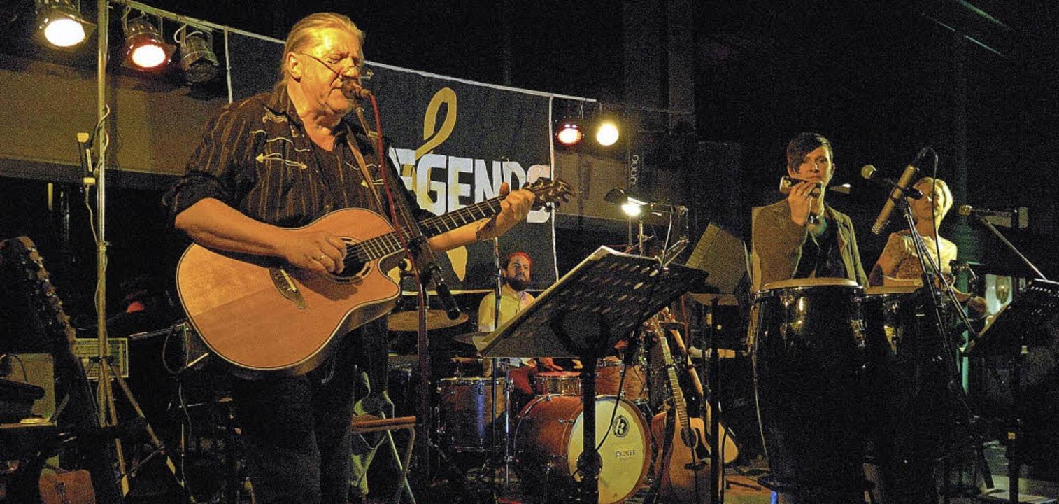 Begeisterten mit ihrer Musik vor rund ...uchern: John Amann & The Legends.     Foto: Jürgen Schweizer