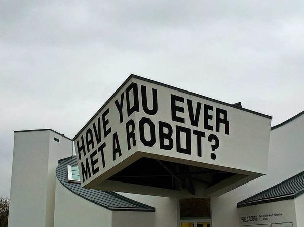 Hast du schon mal einen Roboter getroffen?