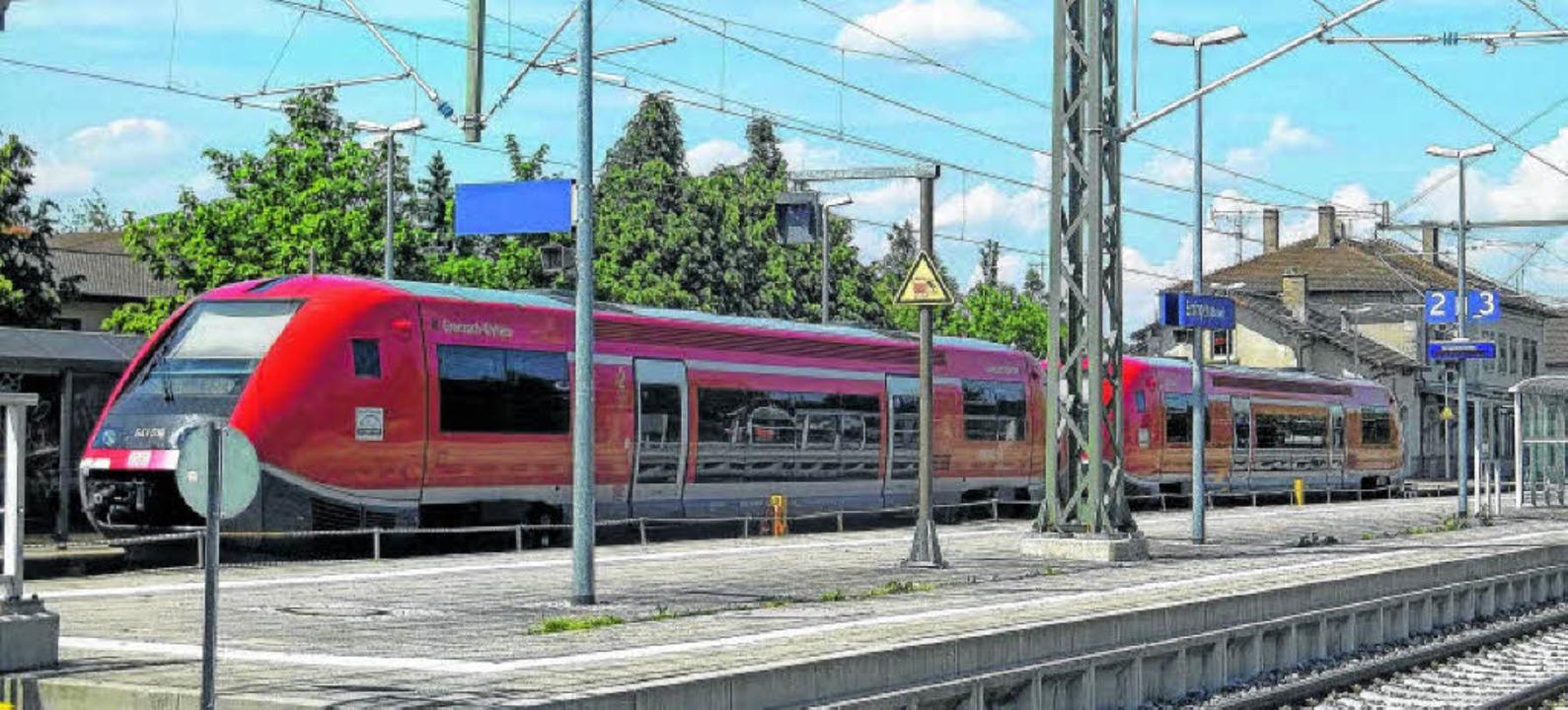 Der Lückenschluss der Elektrifizierung... (Foto) und Basel konkretisiert sich.   | Foto: Schwarz