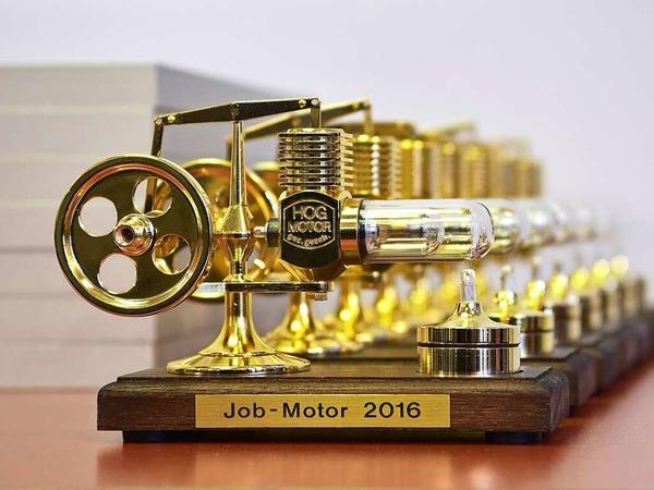 Der Jobmotor-Preis: ein Stirling-Motor