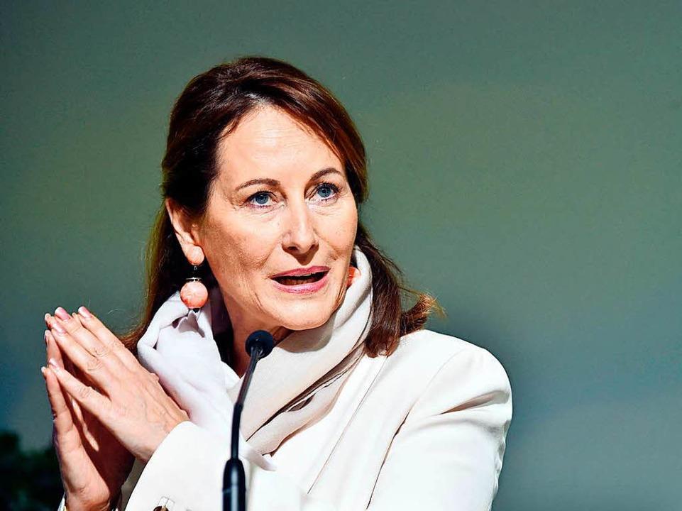 Die französische Umweltministerin Ségolène Royal  | Foto: AFP