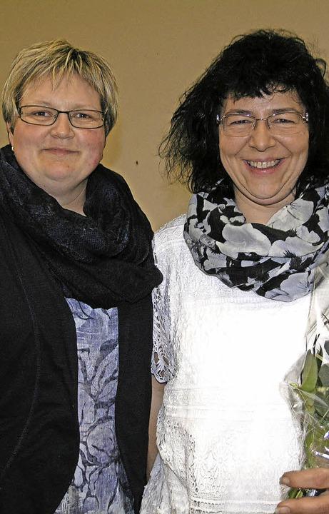 Anja Zolg (links) wird als Schriftführ...ns Schwaningen mitwirken.Foto: Stadler  | Foto: Andrea Stadler