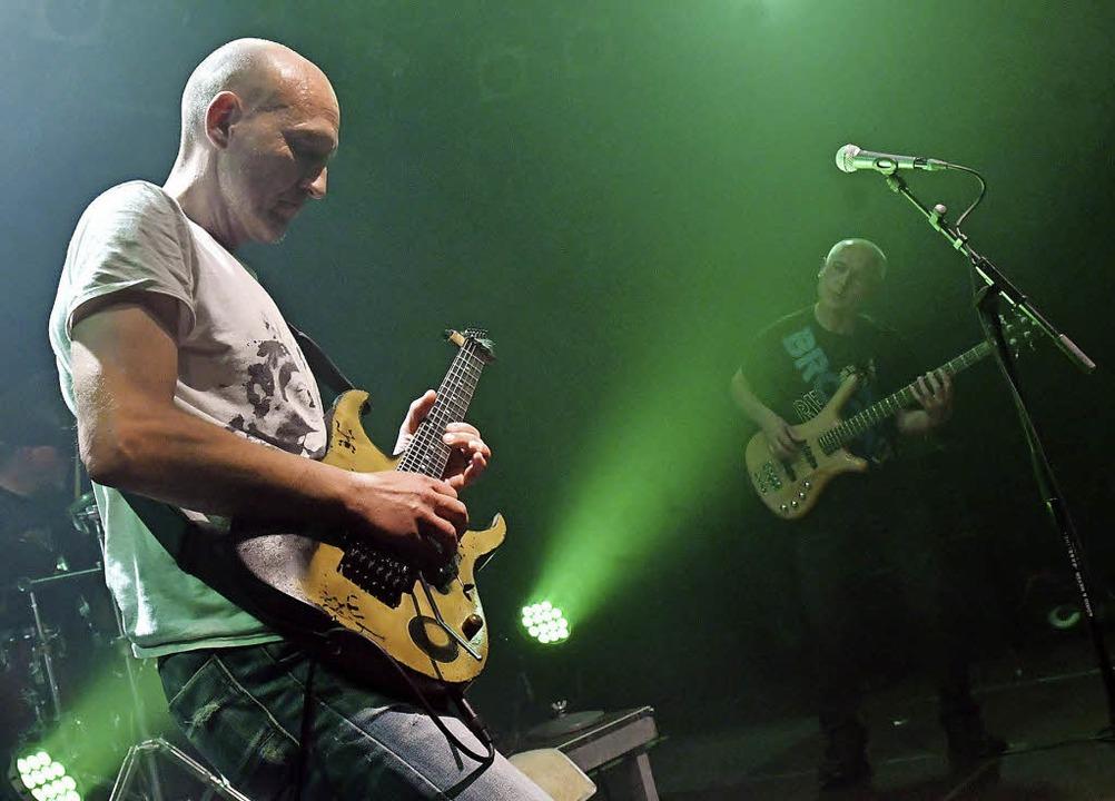 Thomas Hoppler (Gitarre) und Peter Vet...s) liefern staunenswerte Qualität ab.   | Foto: Wolfgang Künstle