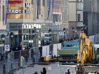 Großbaustelle in Freiburg: Bagger buddeln den Händlern ein Umsatzloch