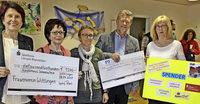 Kinderhaus Sonnenschein freut sich über 1500 Euro