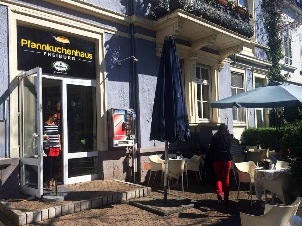 Im Pfannkuchenhaus gibt es Waffeln, Pfannkuchen und Pancakes.  | Foto: Anna-Lena Gröner