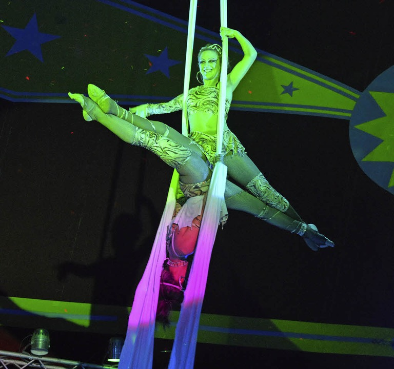 Jede Menge Artistik bietet der Circus Paul Busch.   | Foto: PR