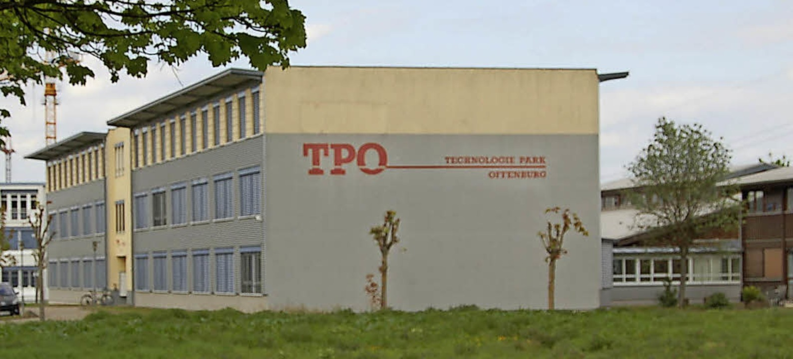 ... Existenzgründerzentrum: der Technologiepark Offenburg (TPO)   Foto: hrö