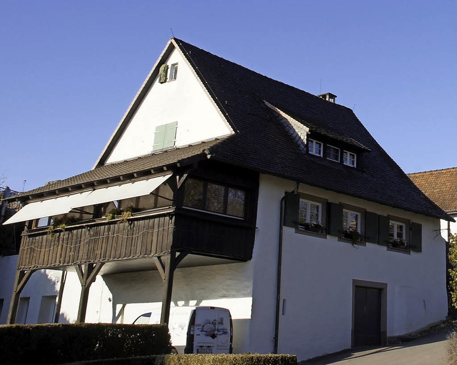 Der alte Gebäudeteil der Burgschenke Rötteln  | Foto: Stadt Lörrach