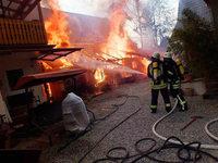 Scheunenbrand in Kappel: Polizei hat zwei Jugendliche im Visier