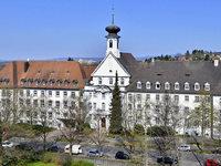 Herz-Jesu-Kloster in Herdern: Viel Platz, immer weniger Studenten