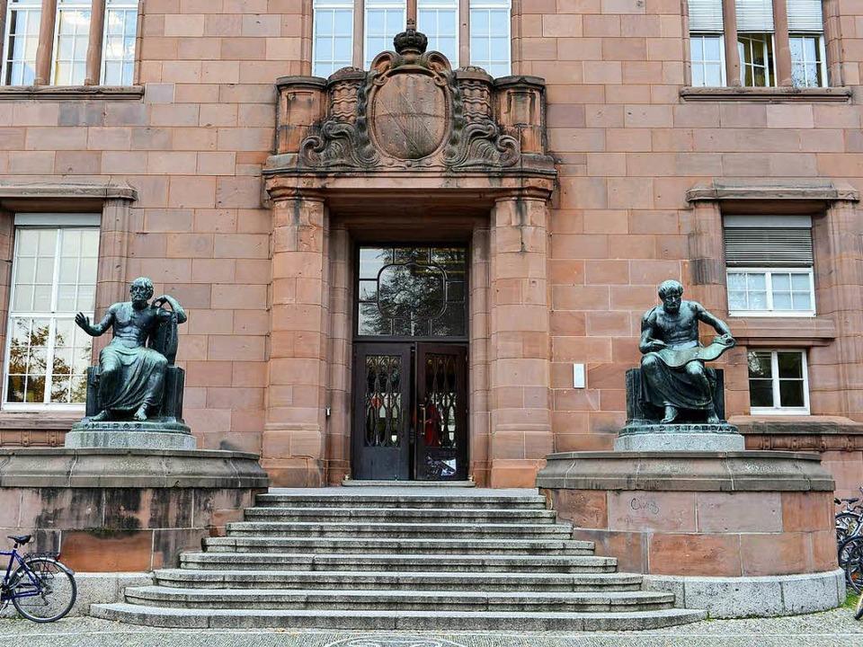 Universitäten – Säulen der Aufkl...Freiburger Albert-Ludwigs-Universität.  | Foto: Ingo Schneider