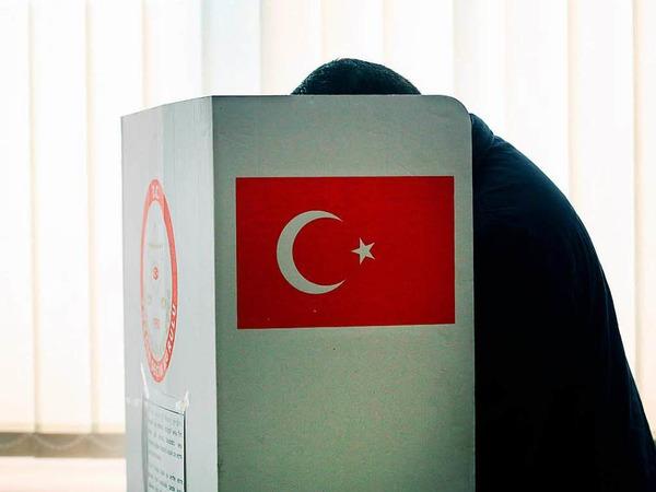 Türkisches Wahllokal