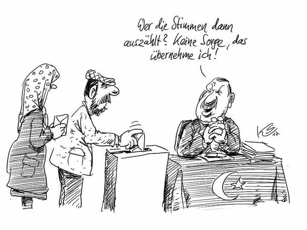 Karikatur von Stuttmann