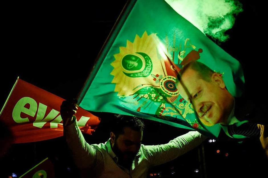 Unterstützer des Ja-Lagers (Foto: AFP)