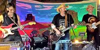 Mit der Band Arizona Fire in Titisee-Neustadt